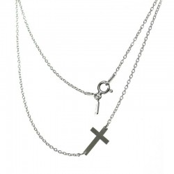Gargantilla Cruz de plata